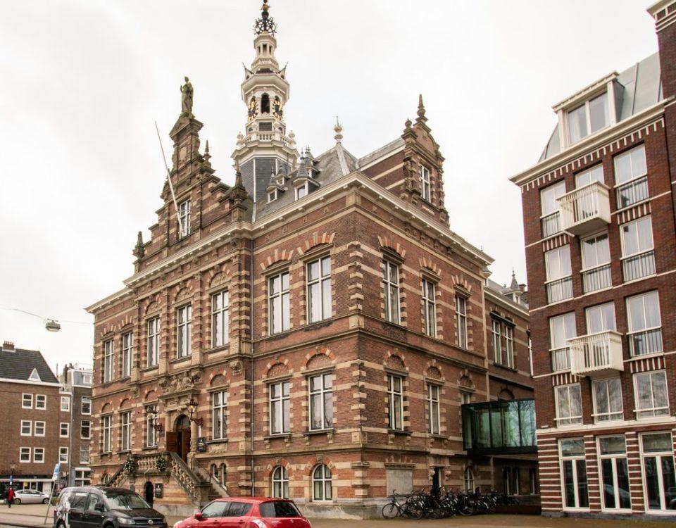 Gevelrenovatie Marc Bohle Amsterdam